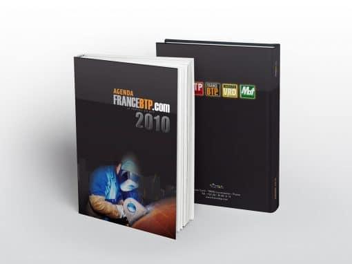 Couverture de l'agenda FranceBTP.com