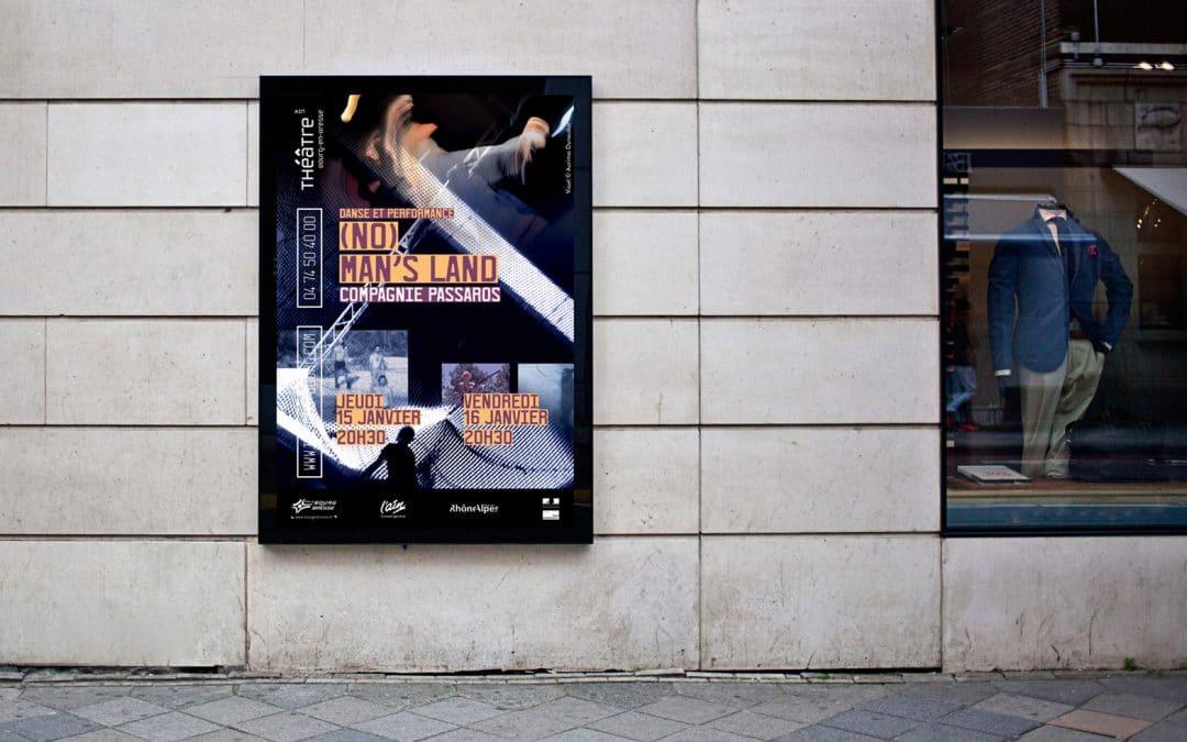 No Man's Land de Passaros : affiche et dossier de presse